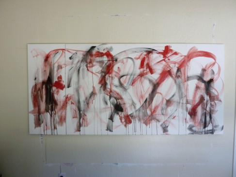 New Triptych Work in Progress