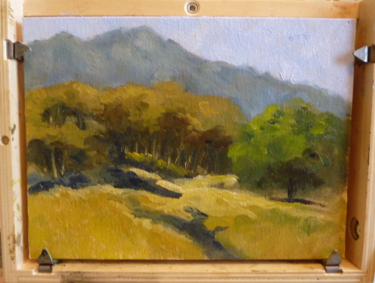 Painting of Pete's Valley Cattle