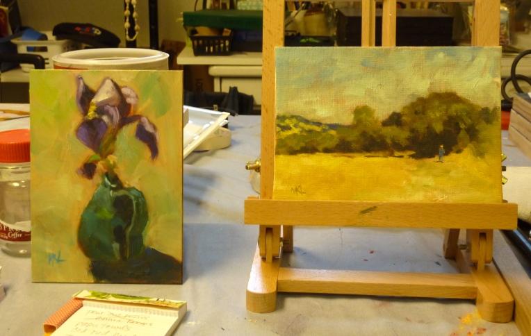 5 x 7 paintings