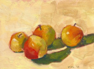 Four Crab Apples