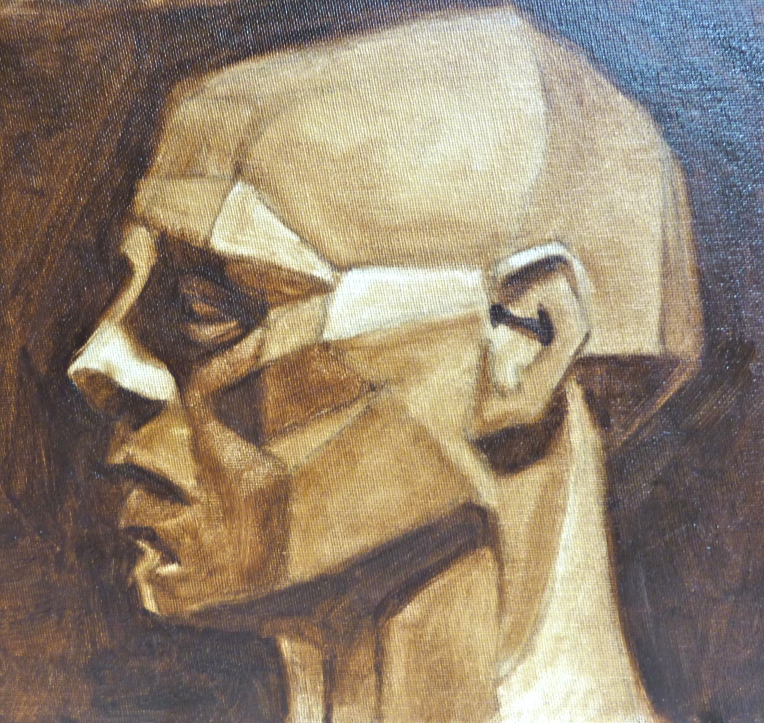 Burnt Umber Pick Out, Asaro Head