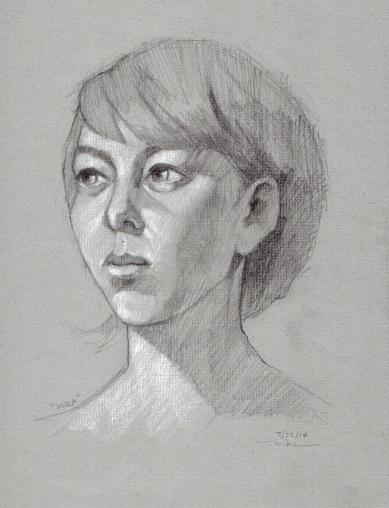 Mika pencils, 9 x 12