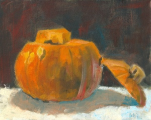 Pumpkin with Cut off Top
