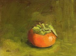 102414 Pomegranate Study 2 8x6 oil