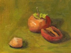 110614 Cut Up Pomegranates 8x6 oil