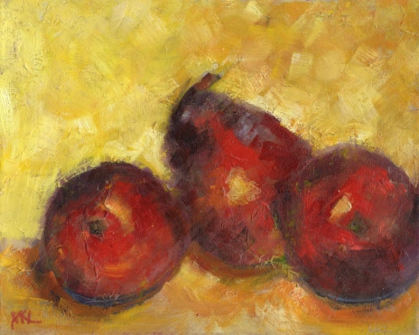 2011 Three Red Pears