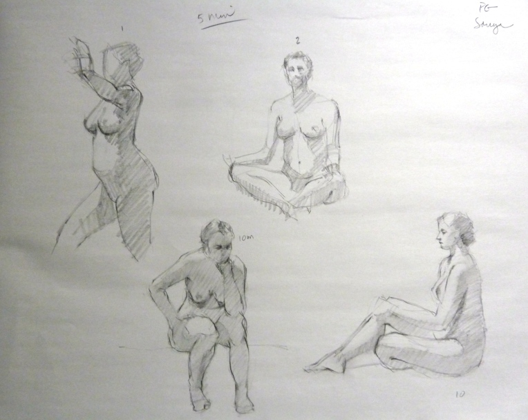5 minute poses