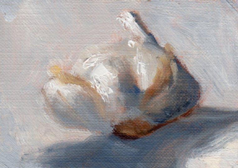Day 7 Garlic 1 oil_2015_ACEO