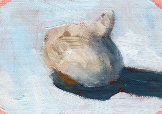 Day 8 Garlic 2 oil_2015_ACEO