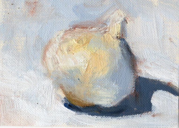 Day 9 Garlic 3 oil_2015_ACEO