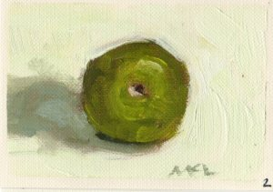 Found Green Apple_oil_080115_2.5x3.5