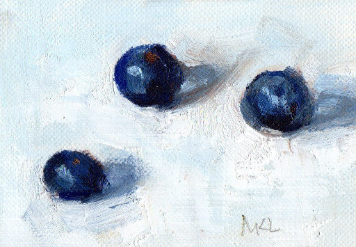 Three Blueberries 2015