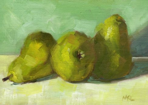 Three Pears 2015