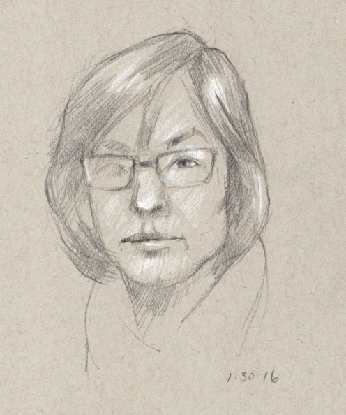 Self Portrait_pencil_5.5x8.5
