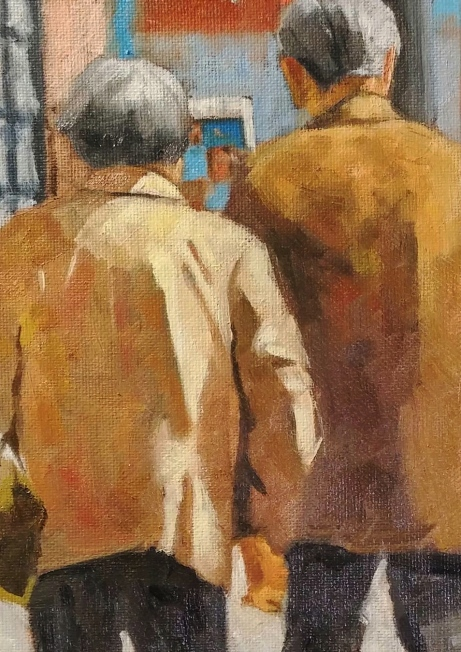 Holding Hands in Chinatown_oil_6x12_021416.jpg