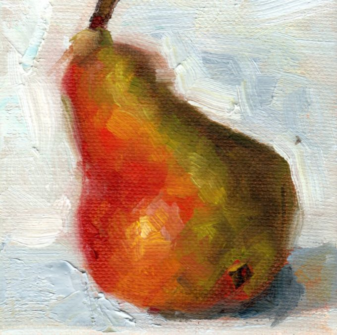 A Bicolored Pear
