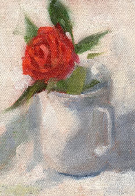 2016 126 Red Rose in White on White 5x7 oil.jpg