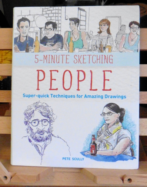 """Front page of """"5-Minute Sketching: People by Pete Scully"""