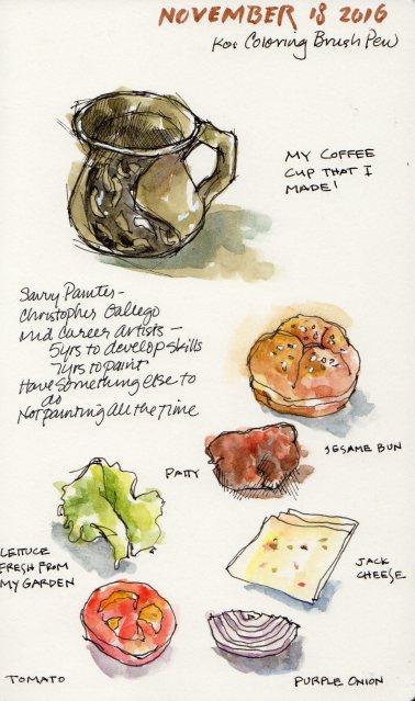 Sketches, Moleskine sketchbook, 11/18/16