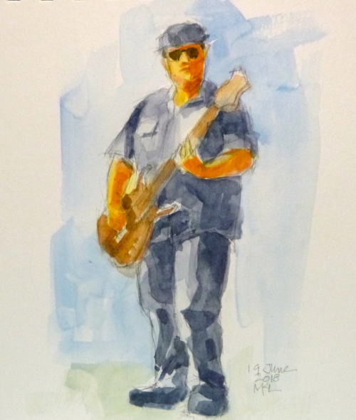 Day 19 The Guitarist
