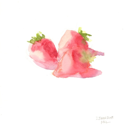 Day 2_Strawberries_30x30DW