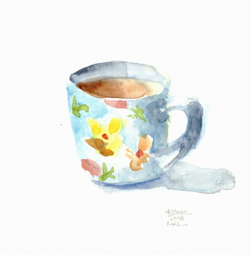 Day 4 Coffee Cup 30x30DW