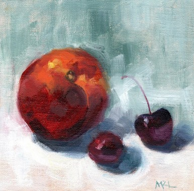 Nectarines and Cherries