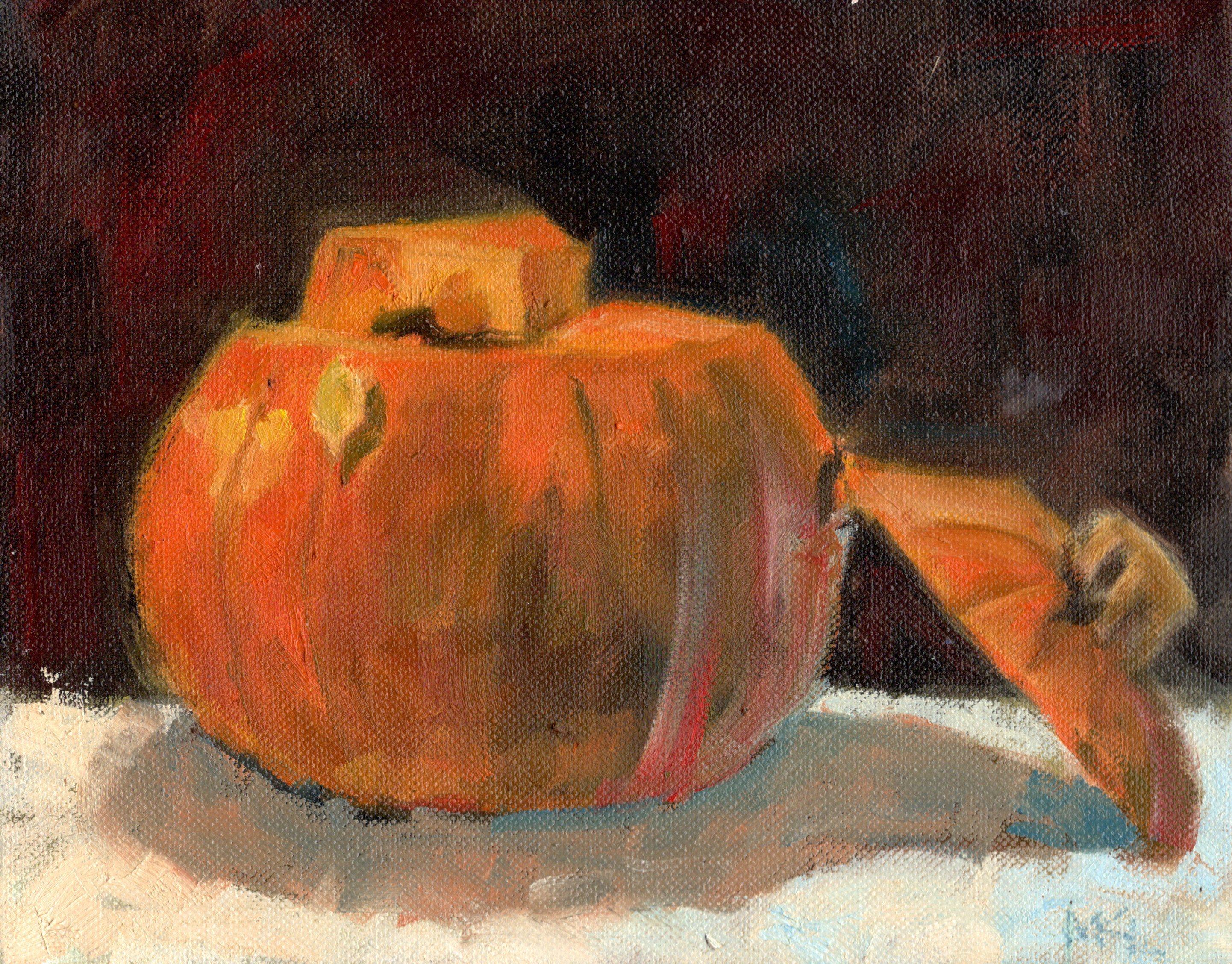 Pumpkin with Top Off