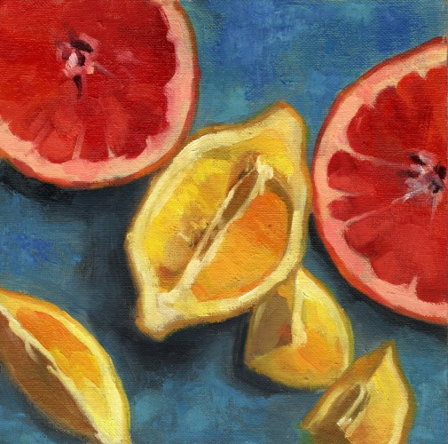 Grapefruit and Lemons Halves_ocp_ 8x8_2018