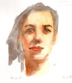 Watercolor Portrait 11