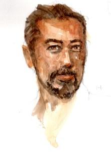 Watercolor Portrait 14