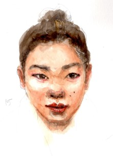 Watercolor Portrait 15