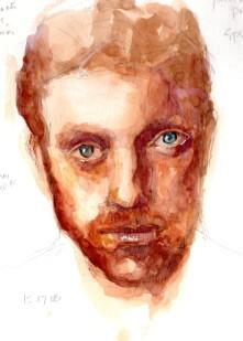 Watercolor Portrait 16