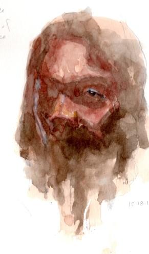 Watercolor Portrait 18