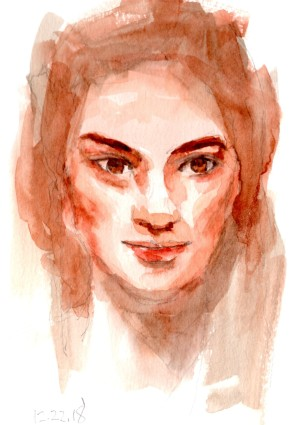 Watercolor Portrait 22