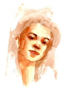 Watercolor Portrait 8