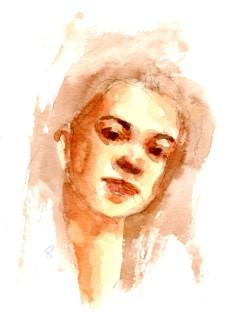 Watercolor Portrait 8