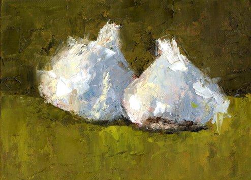 9 garlics