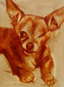 Underpainting of Charly