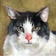 Smoochie, 8 x 8, oils