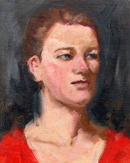 Morgan, 10 x 8, oil, 2015